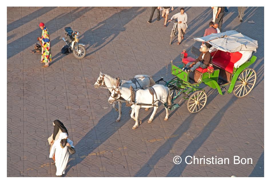 Place Djemâa El Fna à Marrakech